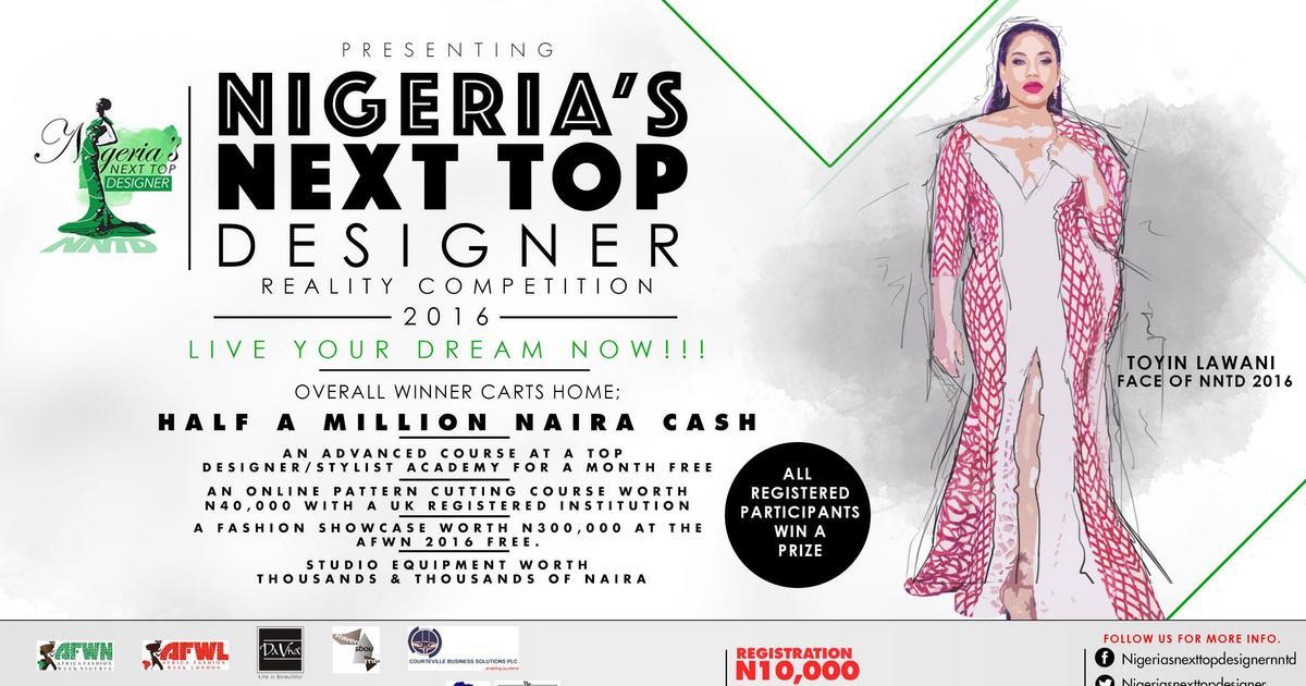 Nigeria S Next Top Designer Reality Fashion Competition Calls For Designers Article Pulse Nigeria