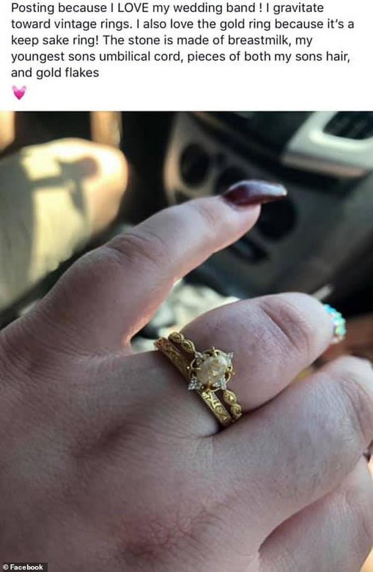 prsten od majčinog mleka