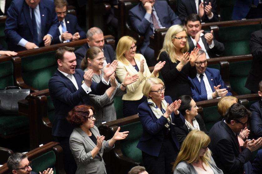 Debata po wyborze Tuska
