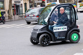 električni auto pariz