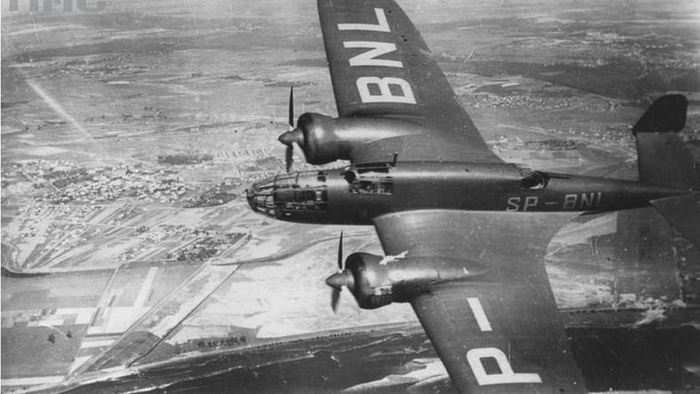 Samolotom bombowym nadawano nazwy wielkich ssaków żyjących w Polsce: Żubr, Łoś, Miś