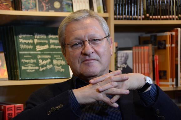 Dragan Velikić lauret nagrade za životno delo 'Vilenica'