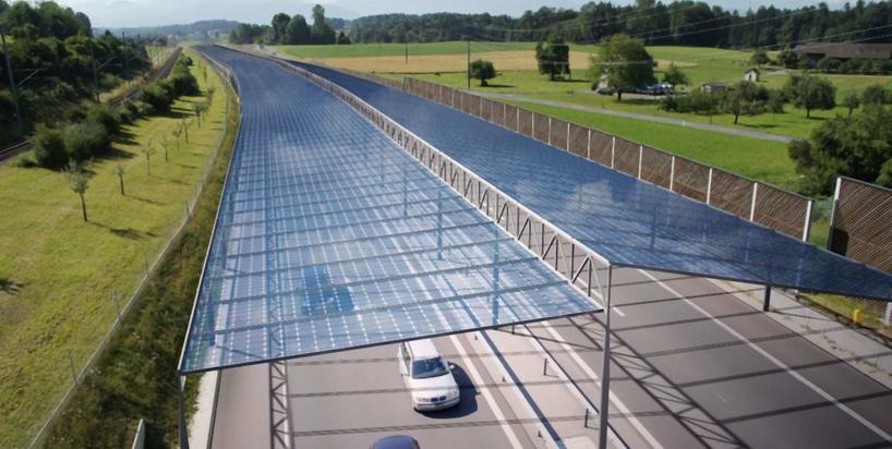 """Dach autostrady jako farma fotowoltaiczna. Ciekawy pomysł na """"zieloną"""" energię"""