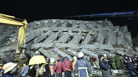 Tajwan: liczba ofiar śmiertelnych trzęsienia ziemi wzrosła do 55