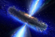 gravitacioni talasi03 kvazar crna rupa foto NASA ESA
