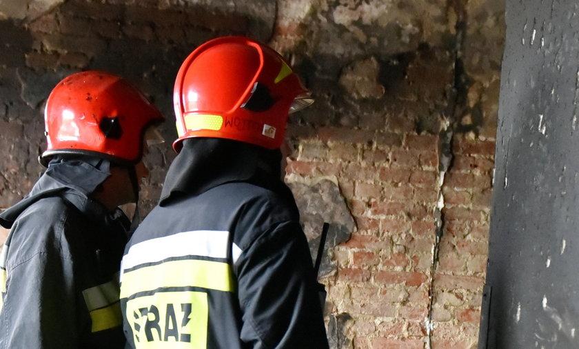 pożar na Grabowej