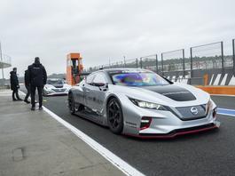 Nissan Leaf Nismo RC – bolid na prąd