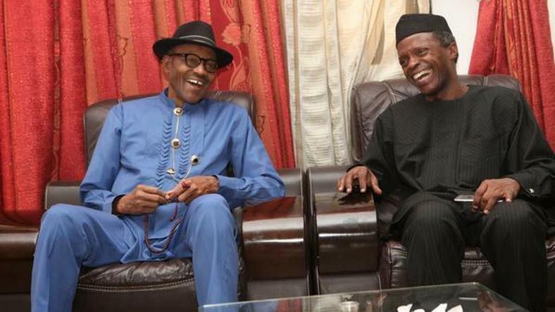 President Muhammadu Buhari and Vice President Yemi Osinbajo.
