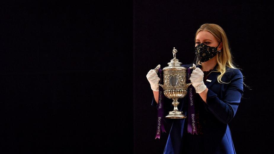 Najstarsze zachowane trofeum Pucharu Anglii