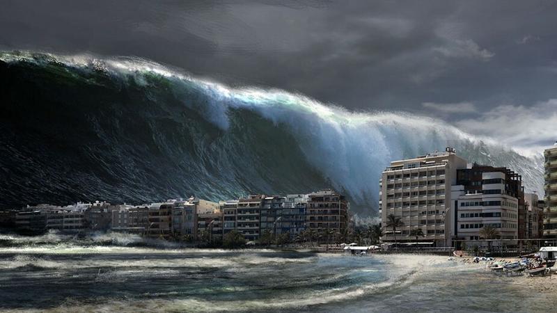 Eksplozje ochroną przed tsunami?