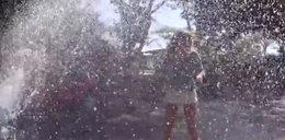 Nietypowy Ice Bucket Challenge Marceliny Zawadzkiej