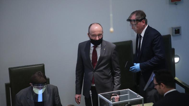 Pełniący obowiązki pierwszego prezesa Sądu Najwyższego Kamil Zaradkiewicz