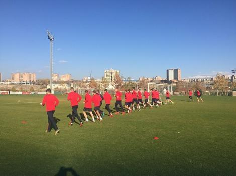 Mlada fudbalska reprezentacija Srbije u Jermeniji