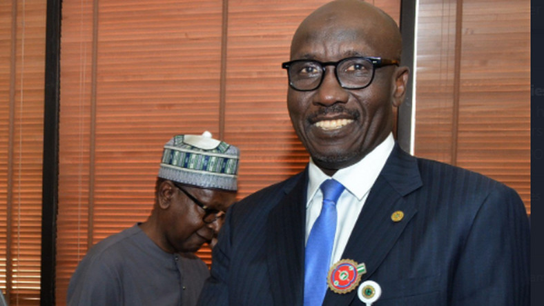 Group Managing Director of Nigerian National Petroleum Corporation (NNPC), Malam Mele Kyari. [Twitter/@NNPCgroup]