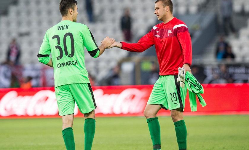 Adam Wilk i Grzegorz Sandomierski