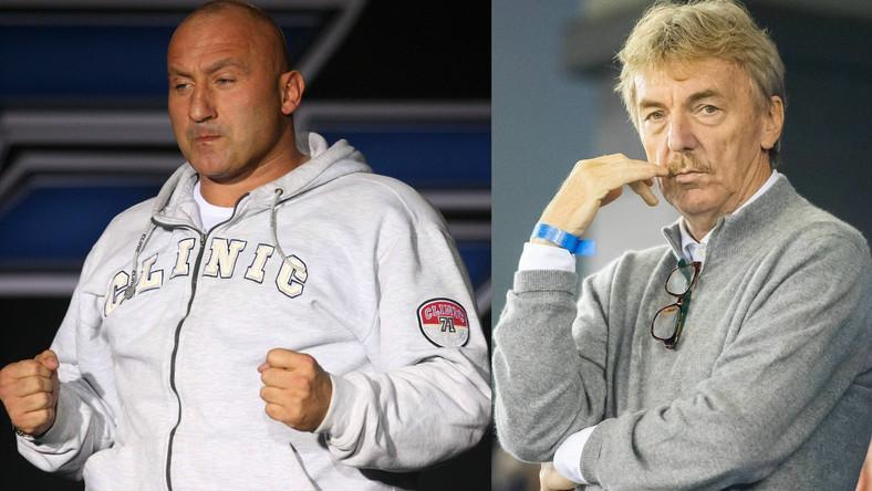 Marcin Najman i Zbigniew Boniek