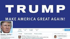 Hakerzy sugerują Trumpowi zabezpieczenie konta na Twitterze