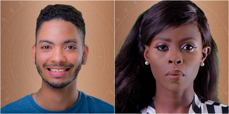 K-brule and Khloe are ex-housemates of the Big Brother Naija Season 3 who were disqualified.[Twitter/Big Brother Naija]