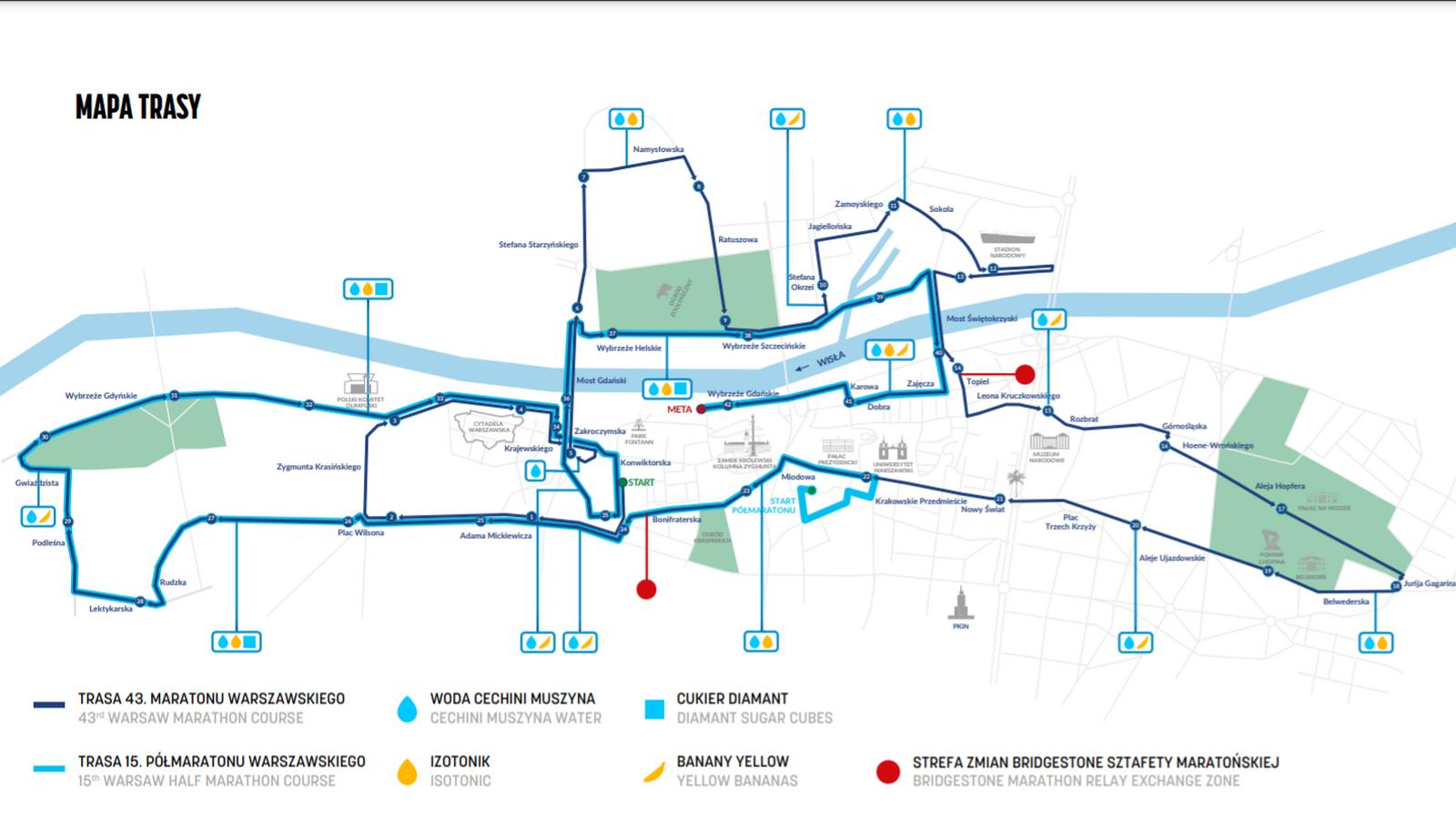 Weekend w Warszawie pod znakiem maratonów. Przygotujcie się na utrudnienia