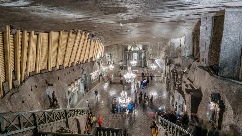 Trwają prace w kopalni soli Wieliczka - Podróże