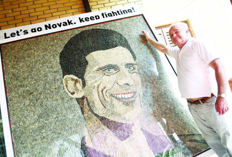 Novi Sad,  Isak Gradjin, Novak Đoković