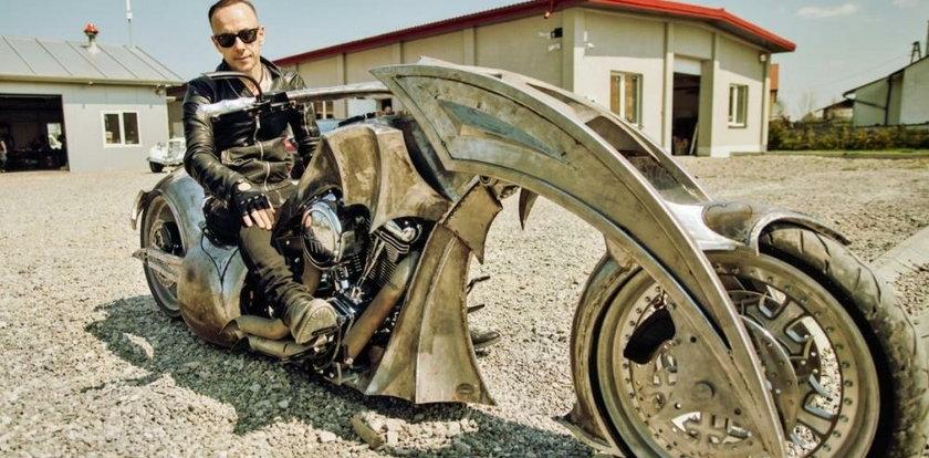 Motocykl Nergala na sprzedaż. Cena? Zwala z nóg
