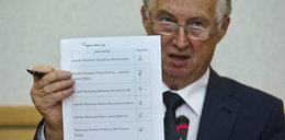 Numery list komitetów w wyborach samorządowych