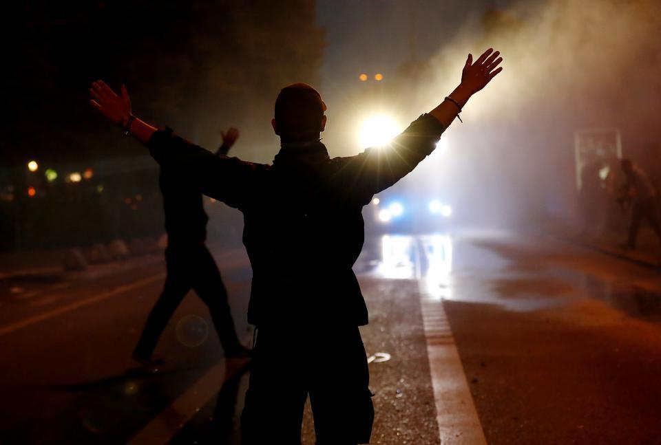 Niemcy: policja zatrzymała pochód antyglobalistów w Hamburgu