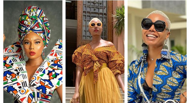 Nancy Isime in African prints [instagram/nancyisime]