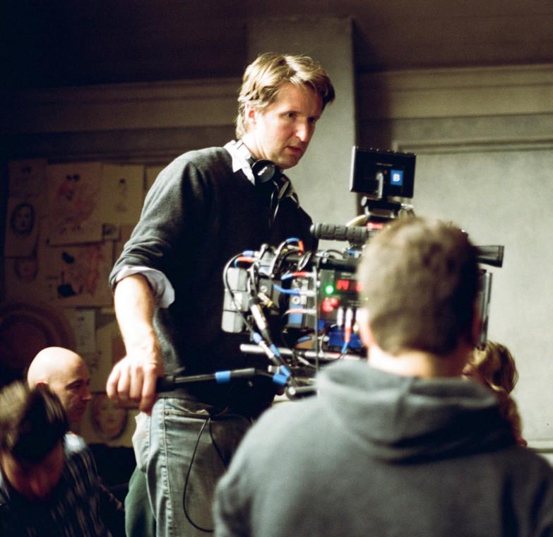 """Tom Hooper na planie filmu """"Dziewczyna z portretu"""""""