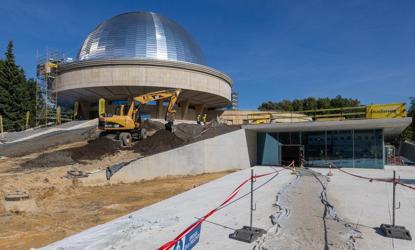 Planetarium Śląskie w Chorzowie.