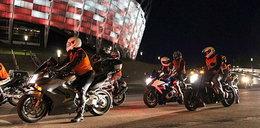 Nocna parada motocyklistów