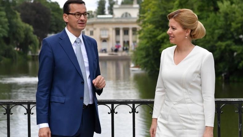 Prezydent Słowacji odbyła wczoraj pierwszą oficjalną wizytę w Polsce...