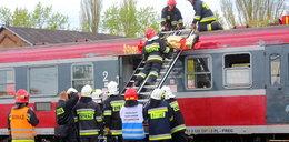 Katastrofa na przejeździe kolejowym w Łowiczu