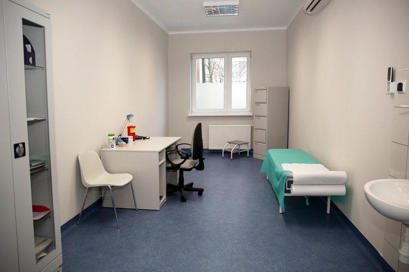 Poradnia kardiologiczna w pomieszczeniach po dawnym kinie i pralni