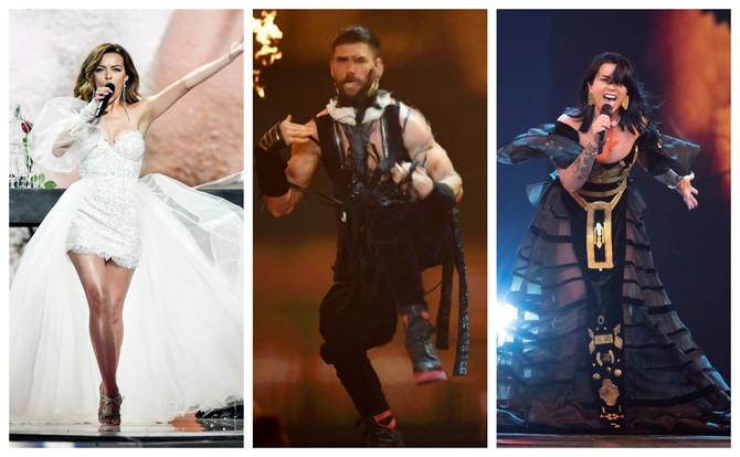 Drugo polufinale Evrovizije: o njihovim stajlinzima se priča