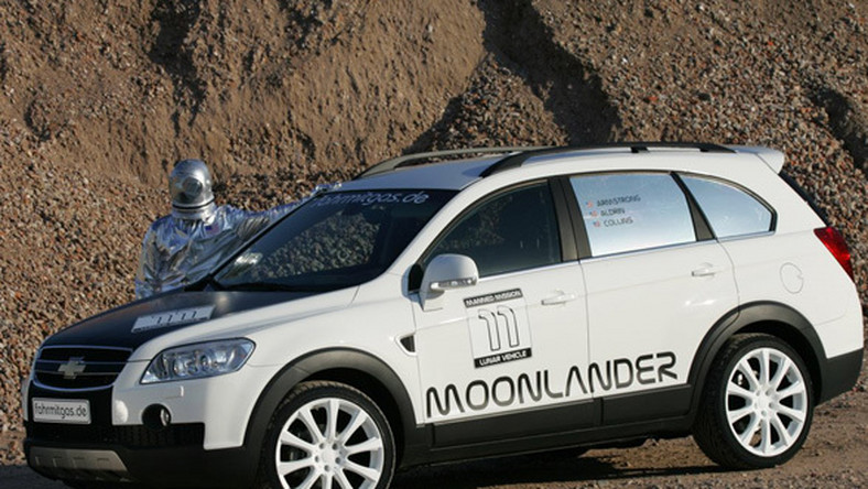 Przed wami Captiva Moonlander, czyli limitowane wydanie wszędobylskiego Chevroleta