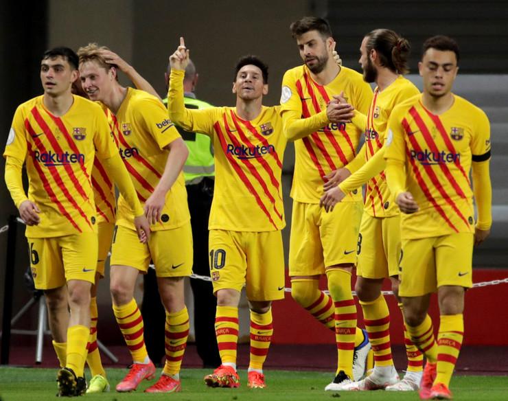 Detalj sa meča FK Atletik Bilbao - Barselona