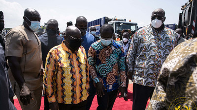 Akufo-Addo applauds Zoomlion for their continuous investment in waste management