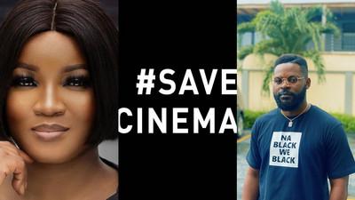 Omotola Jalade Ekeinde, Toyin Abraham,Osas Ighodaro join #savecinemas online protest to reopen cinemas