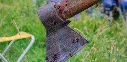 Koszmar w Wołominie. 34-latek zaatakował matkę siekierą