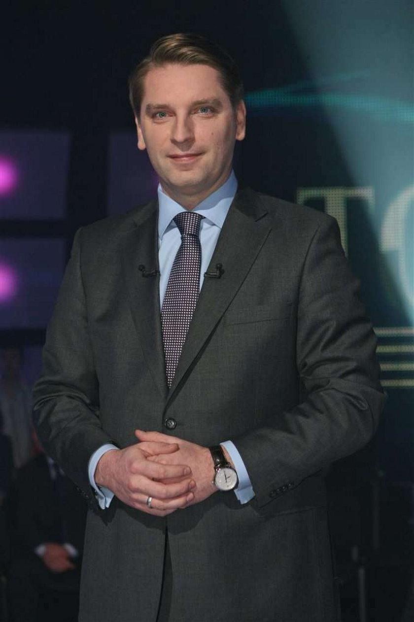 """Tomasz Lis z TVP 2 zdobył tytuł Dziennikarza Roku 2009 przyznawanego przez magazyn """"Press"""""""