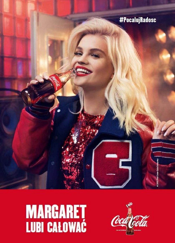 Margaret nowąkrólową reklam