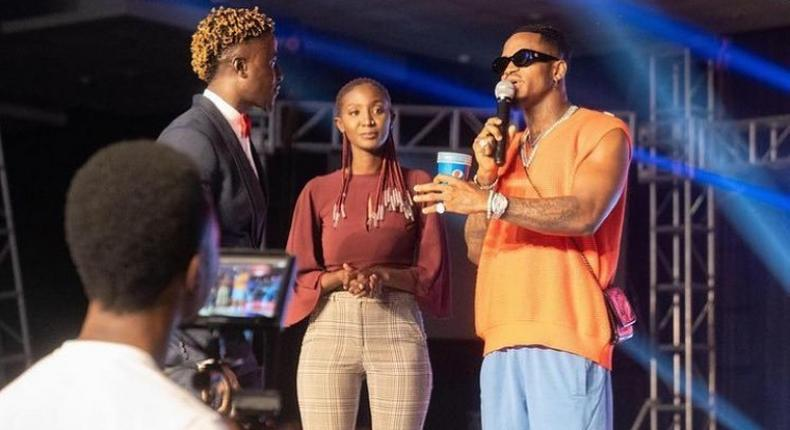 Diamond gifts Comedian Coy Mzungu brand new car during show headlined by Mammito Eunice
