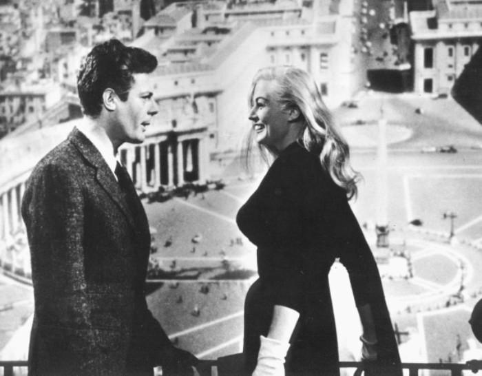"""""""Słodkie życie"""", reż. Federico Fellini, 1960, fot. z archiwum FINA."""