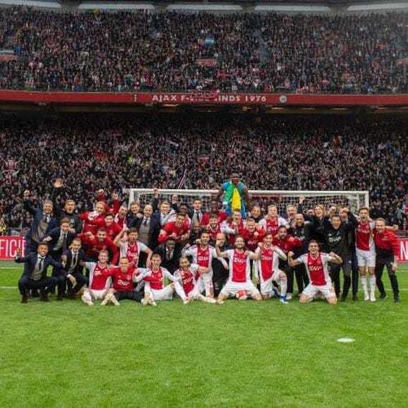 Fudbaleri Ajaksa slave titulu na Amsterdam areni