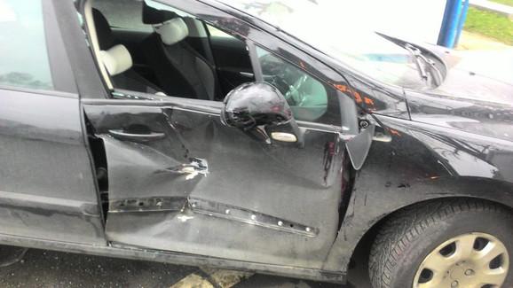 Smrskan automobil koji je vozila Dea Đurđević