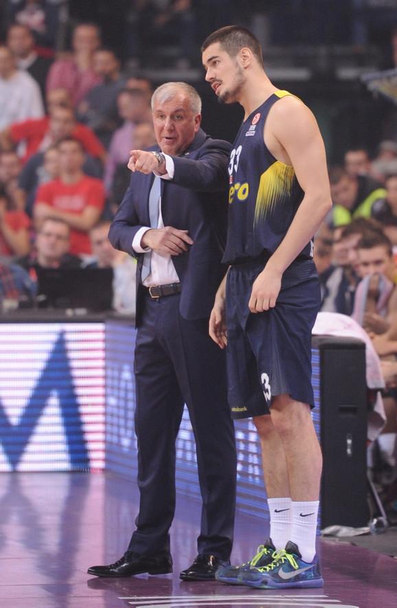 Nikola Kalinić u razgovoru sa Željkom Obradovićem