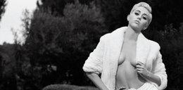 Miley Cyrus pozuje nago dla Lagerfelda