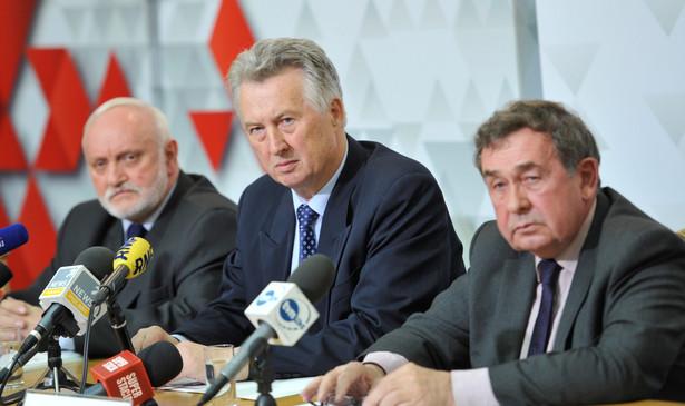 Konferencja PKW. Fot. PAP/Bartłomiej Zborowski